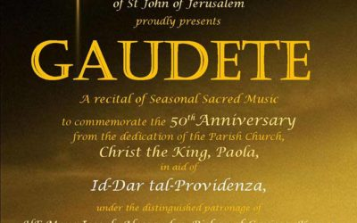 Gaudete – A recital of seasonal sacred music